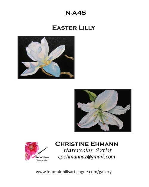 N-A45 Easter Lilly