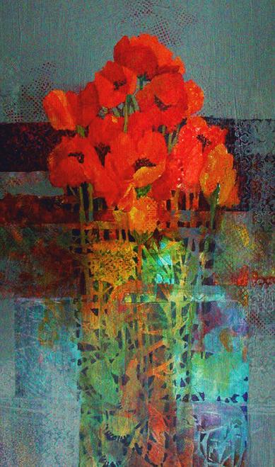 N-956 Poppy Tangle by Helen Gwinn