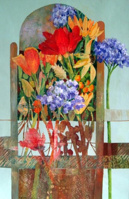 N-958 Flourish Like Flowers by Helen Gwinn