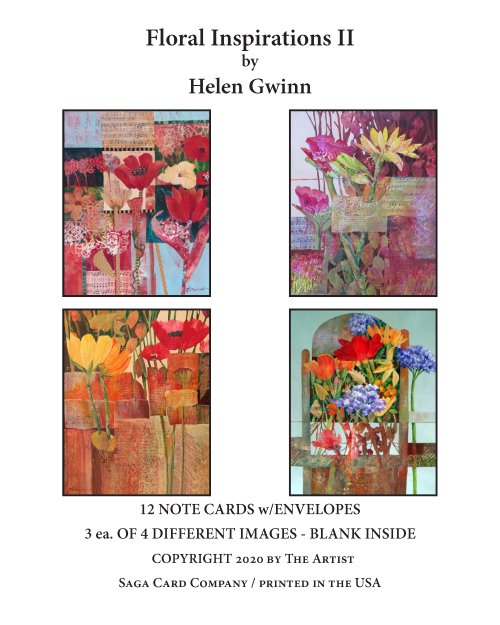 N-A52 Floral Inspirations II by Helen Gwinn