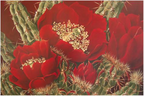 BZN-11 Red Buckhorn Beauties by Beth Zink