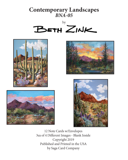 BNA-05 Contemporary Landscapes by Beth Zink