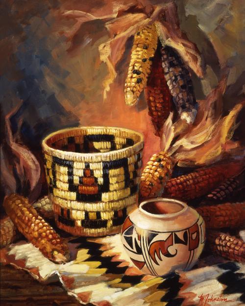 AC1047 Hopi Harvest by Maxine Johnston