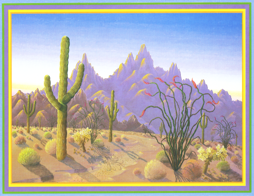 N-317 Desert Spring by Noble Richardson