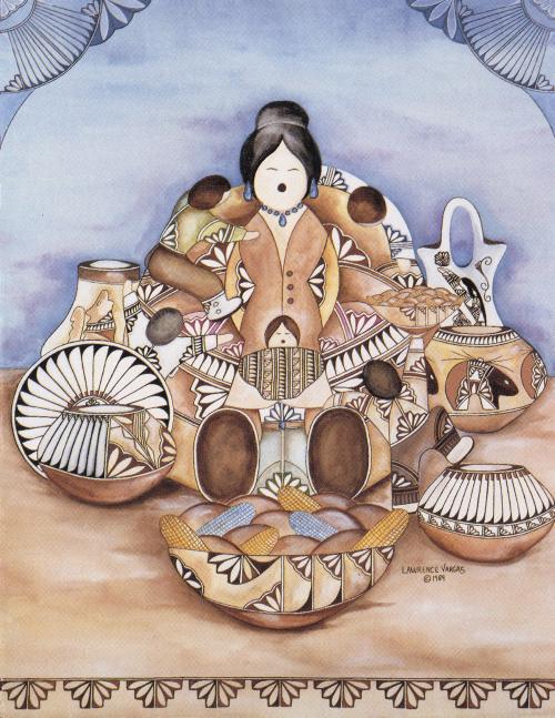 N-353 Grandma Andrea-The Storyteller by Lawrence Vargas