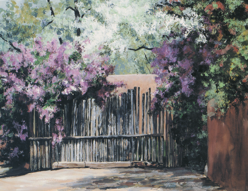 N-360 Lilacs of Santa Fe by Therese Evangel