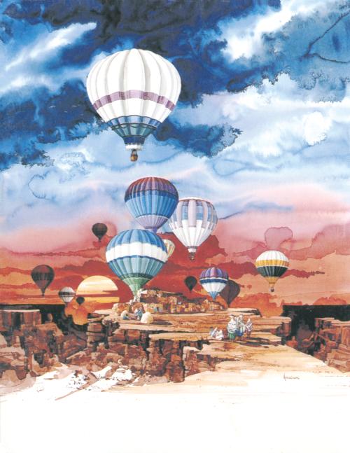 N-417 Pueblo Balloon Festival by Michael Atkinson