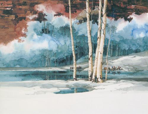 N-419 Emerald Lake by Michael Atkinson