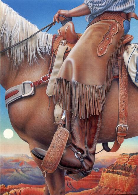 N-427 Monumental Cowboy by Denny Craig Knott