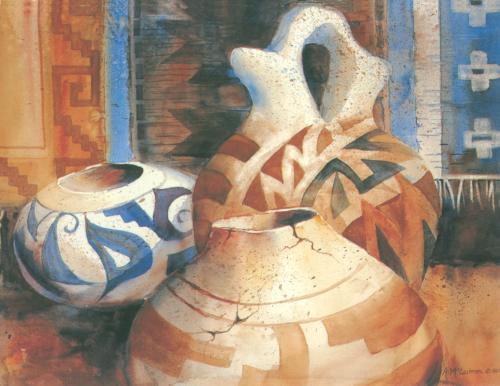 N-454 Hopi Pottery by Ann McEachron