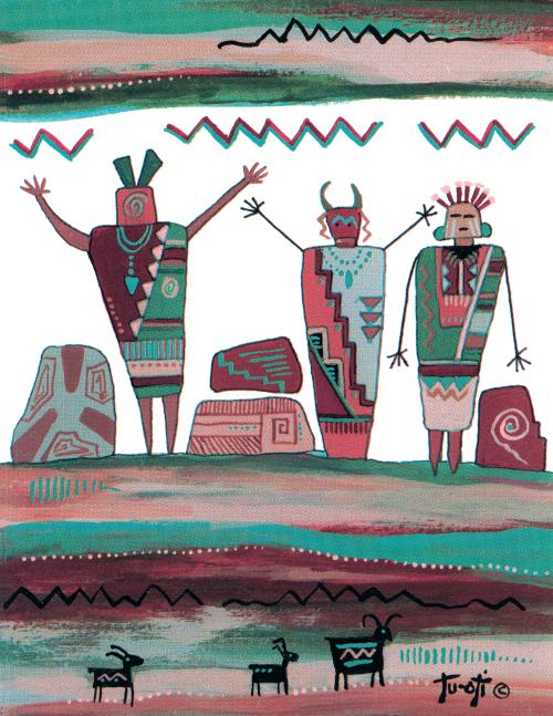 N-499 Ancient Guardians by Gale Tu-Oti