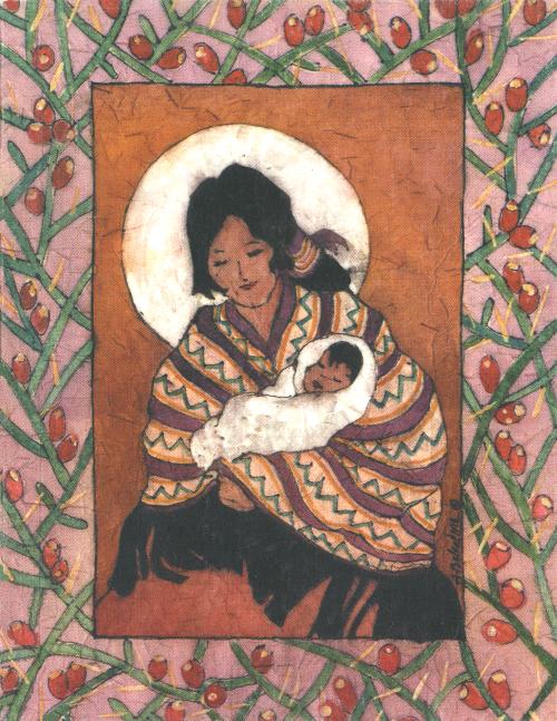 N-503 Indian Madonna by Anna Balentine