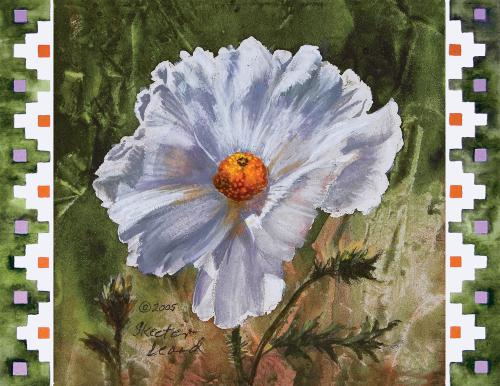 N-543 Prickly Poppy by Beth Zink