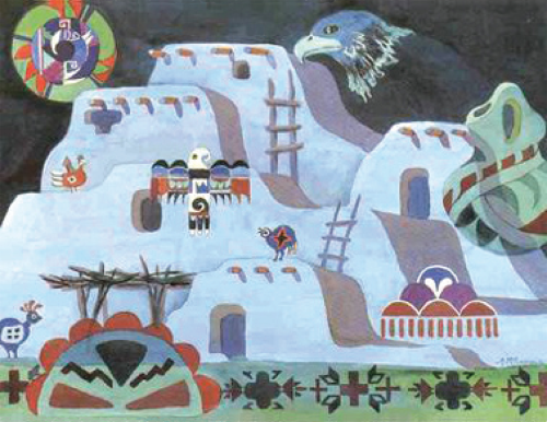 N-546 Pueblo Night Visions by Ann McEachron