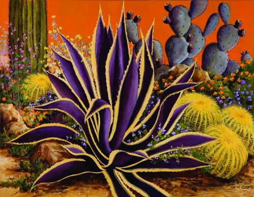 N-570 Desert Garden by Beth Zink
