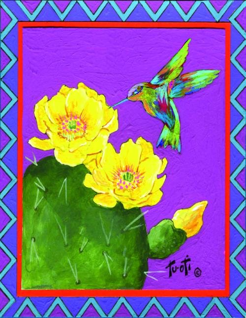 N-610 Desert Bloom by Gale Tuoti