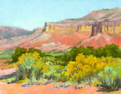 N-630 Piedra Lumbra Cliffs by Lee McVey