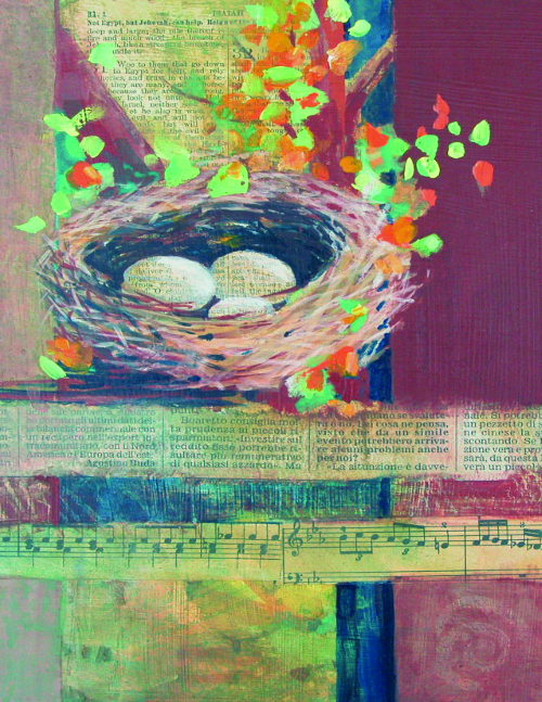N-634 Spring Nest by Helen Gwinn