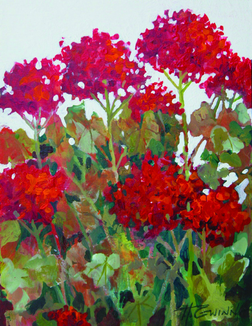 N-635 Geranium Hoedown by Helen Gwinn