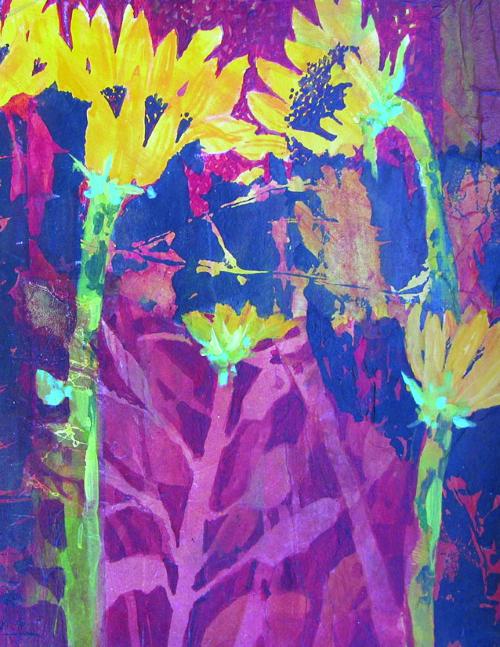 N-637 Sunflower Melange by Helen Gwinn