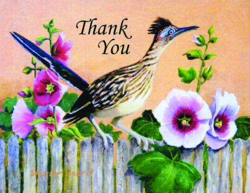 N-639 Thank You ( Roadrunner) by Skeeter Leard