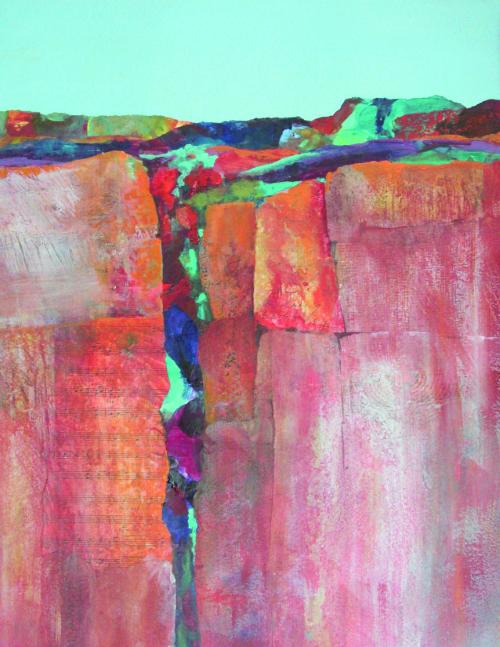 N-647 Wetsern Crevice by Helen Gwinn