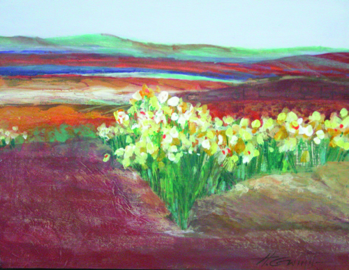 N-649 Desert Blooms by Helen Gwinn