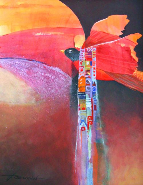 N-651 Take Flight by Helen Gwinn