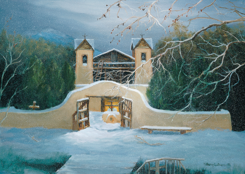 CHR-307 Santuario de Chimayo by Katheryn Williams