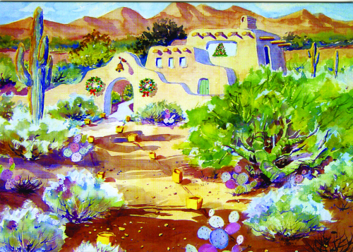 CHR-308 Holidays in the Desert by Ann McEachron