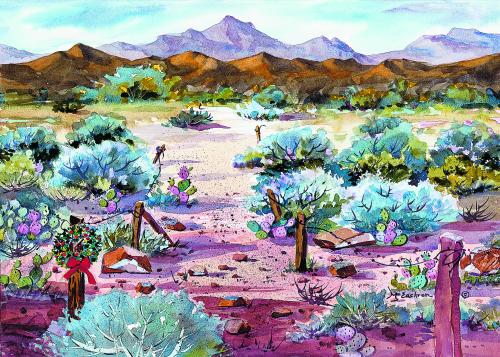 CHR-309 Desert Sage by Ann McEachron