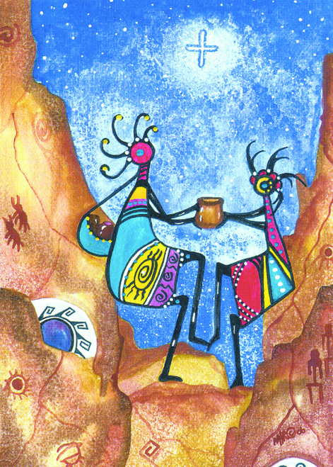 CHR-311 The Kokopelli's' Gift of the Sacred Pot by Martie Hopper Reynolds
