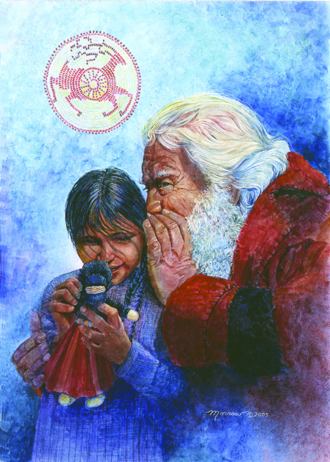 CHR-315 Santa Secret by Kathy Morrow