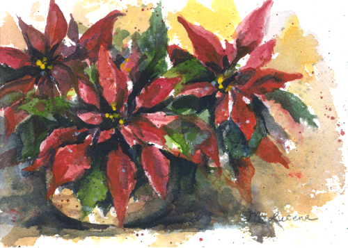 CHR-341 Poinsettia by Margi Lucena