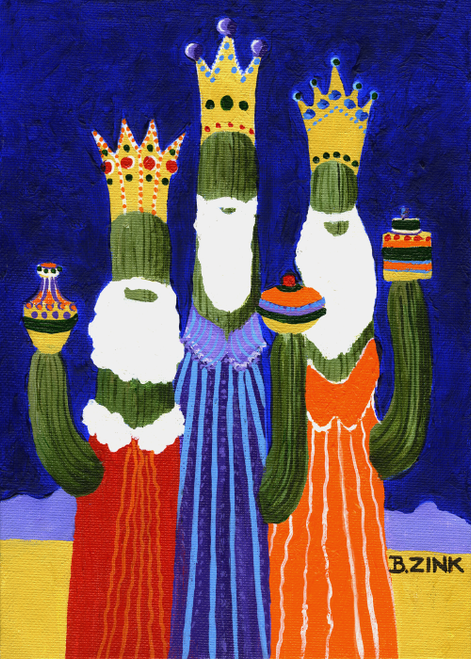 CHR-342 We Three Kings by Beth Zink