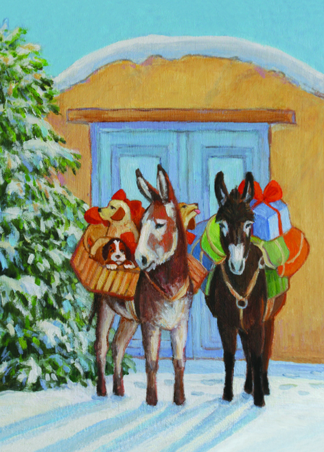 CHR-390 Christmas Puppies by Valerie Graves