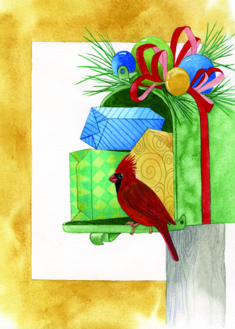 CHR-395 Holiday Mail by Dyanne Strongbow
