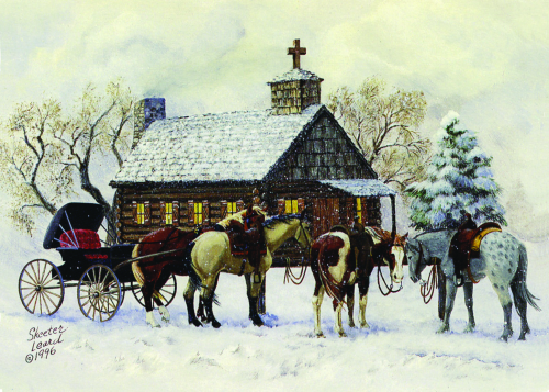 CHR-405 Cow country Christmas by Skeeter Leard