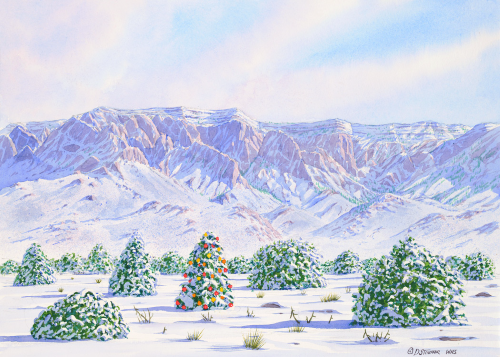 CHR-408 Christmas in Sandia Heights by Dan Stouffer