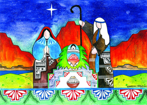 CHR-444 Nativity by Lawrence Vargas