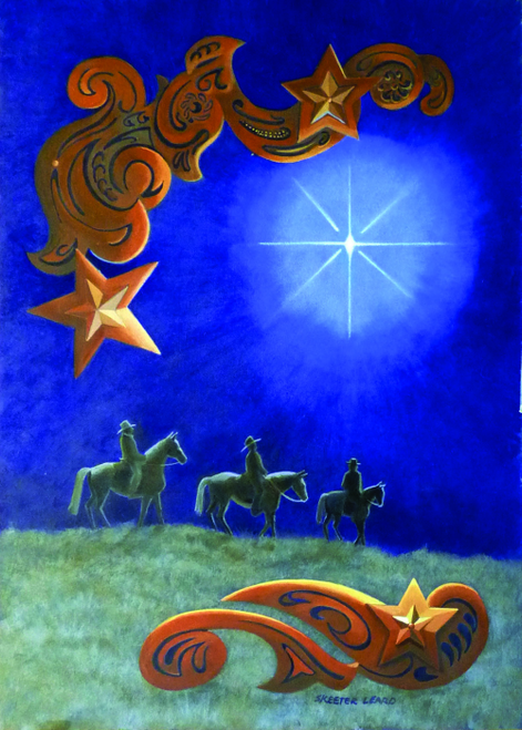 CHR-447 Star of Wonder by Skeeter Leard