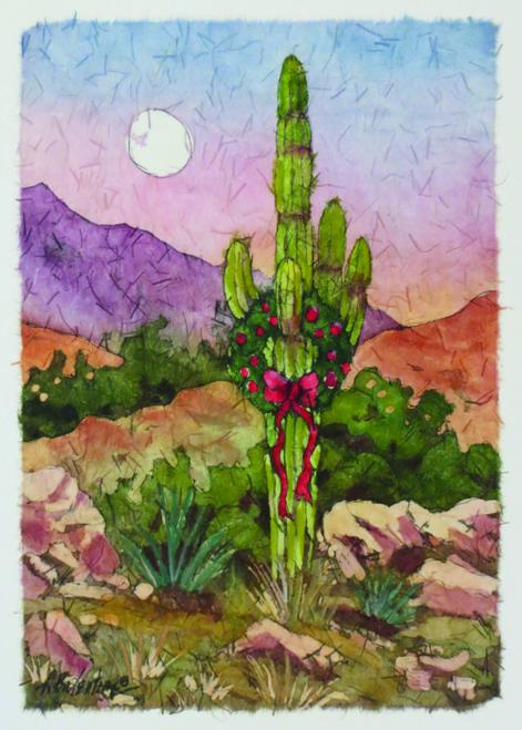 CHR-467 Saguaro Holiday by Anna Balentine