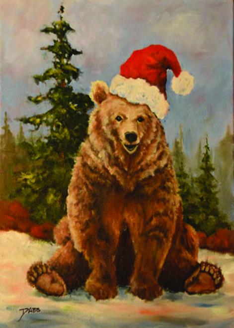 CHR-473 Santa Bear by Keith Dabb