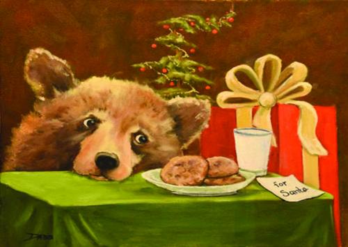 CHR-474 Santa's Cookies by Keith Dabb
