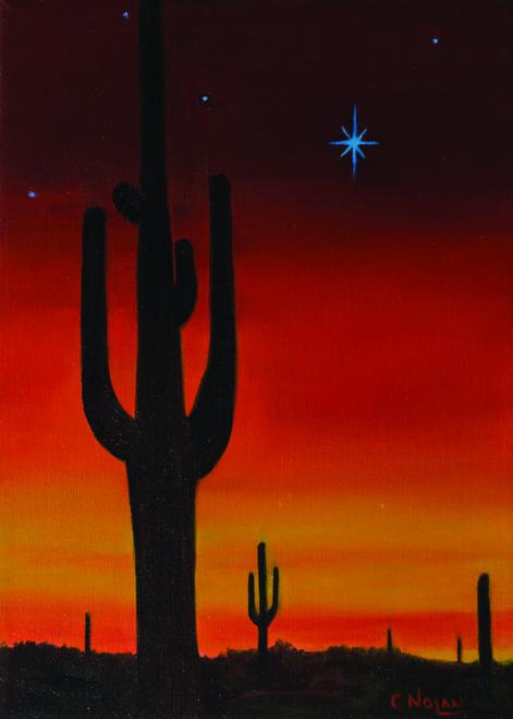 CHR-478 December Sunset by Cheryl Nolan