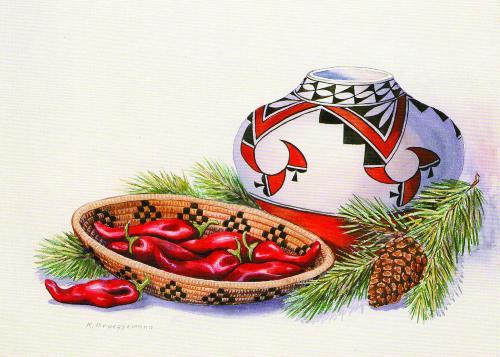 CHR-722 Festive Chile by Karen Brueggemann
