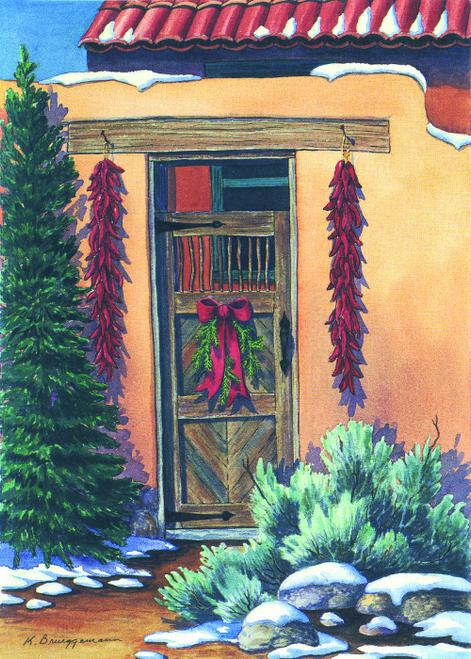 CHR-751 A Holiday Welcome by Karen Brueggemann