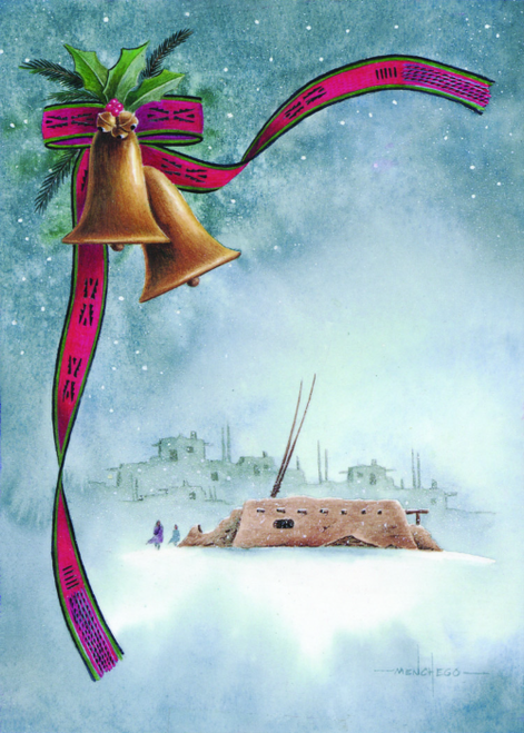 CHR-795 Pueblo Christmas by Art Menchego