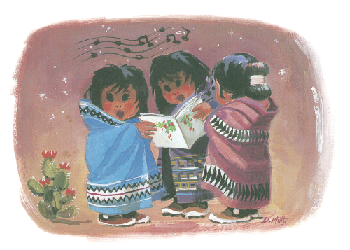 CHR-802 Navajo Earth Babies by Donald W. Muth