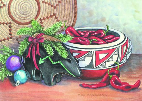 CHR-819 Holiday Fetish by Karen Brueggemann